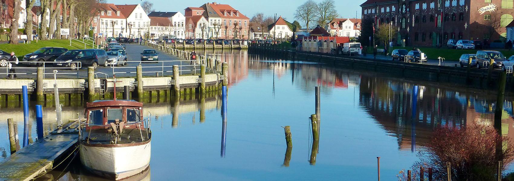 Tönninger Hafen